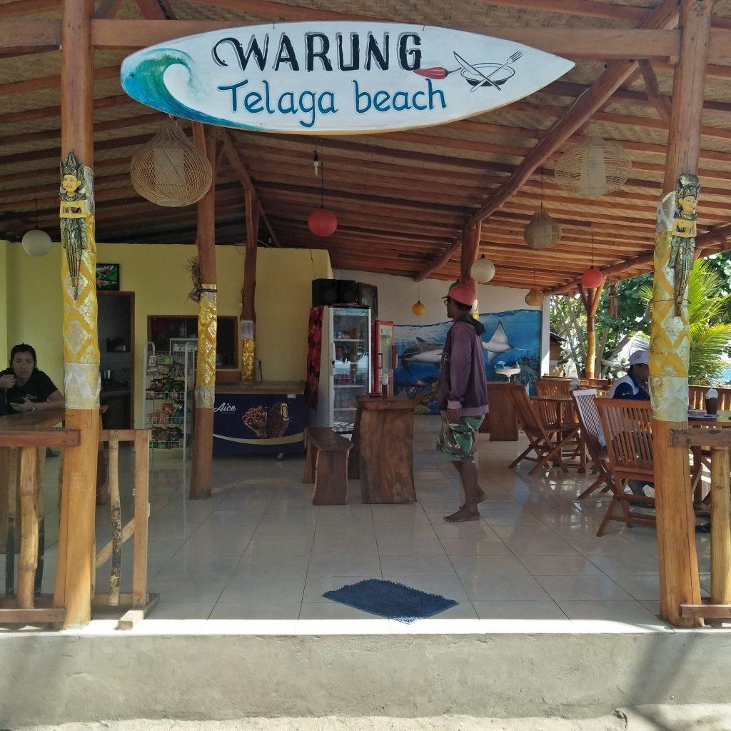 warung telaga beach Nusa Penida